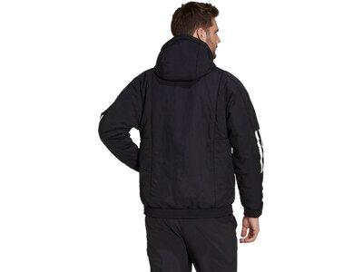 adidas Herren Back to Sport Insulated Hooded Jacke Schwarz