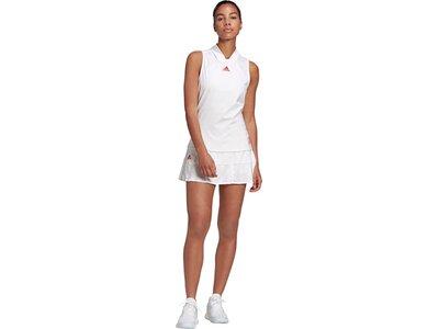 adidas Damen Tennis Match Engineered Tanktop Weiß