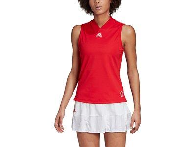 adidas Damen Tennis Match Engineered Tanktop Rot