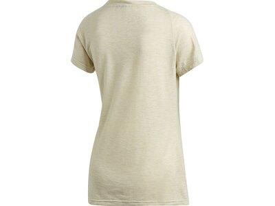 adidas Damen Winners Sportmode weit geschnittene T-Shirt Grau