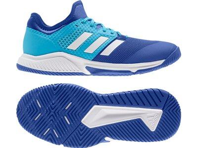adidas Herren Court Team Bounce Schuh Blau