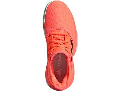 adidas Jungen SoleCourt Schuh Orange
