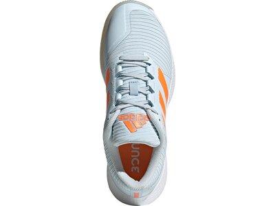 adidas Damen ForceBounce Handballschuh Grau