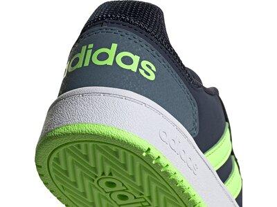 adidas Kinder Hoops 2.0 Schuh Braun