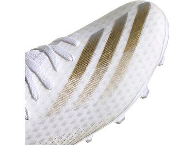 adidas Herren Fußballschuhe X GHOSTED.3 MG Weiß