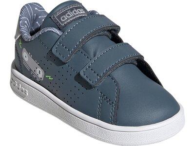 adidas Advantage Schuh Grau