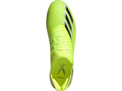 adidas Herren X Ghosted.1 FG Fußballschuh Grün