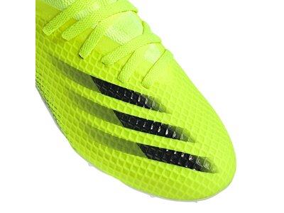 adidas Kinder X Ghosted.3 FG Fußballschuh Grün