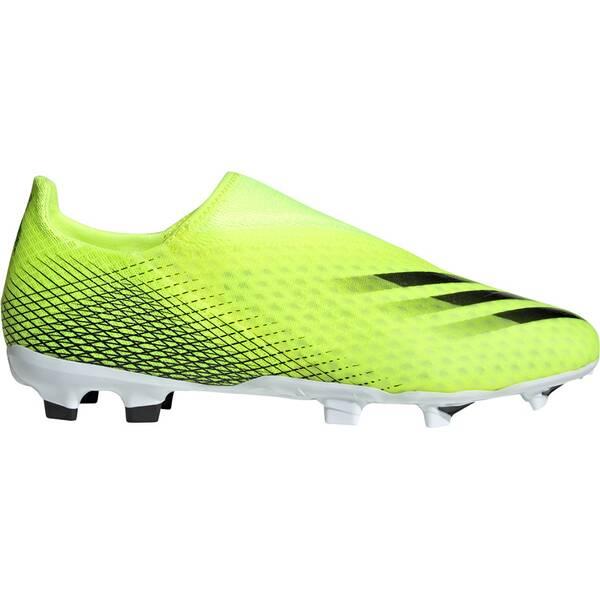 adidas Herren X Ghosted.3 Laceless FG Fußballschuh