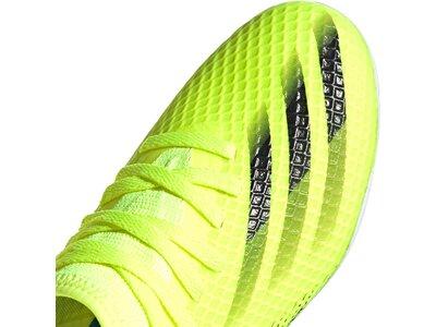 adidas Kinder X Ghosted.3 MG Fußballschuh Grün