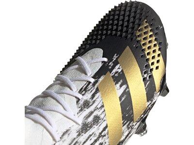 ADIDAS Fußball - Schuhe - Nocken Predator Uniforia 20.1 FG Schwarz