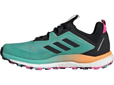 adidas Damen TERREX Agravic Flow GORE-TEX Trailrunning-Schuh Blau