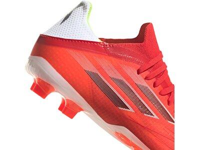 adidas Kinder Fußballschuh X Speedflow. 1 FG Rot