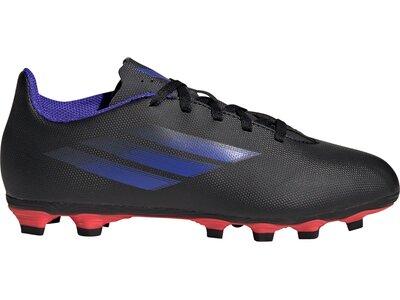 adidas Kinder X Speedflow.4 FxG Fußballschuh Grau