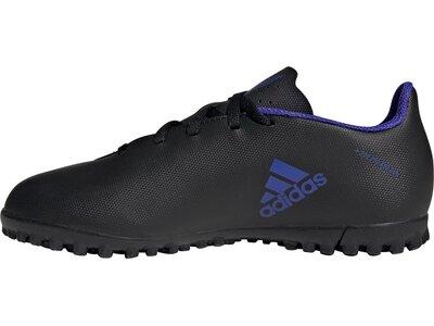adidas Kinder X Speedflow.4 TF Fußballschuh Grau