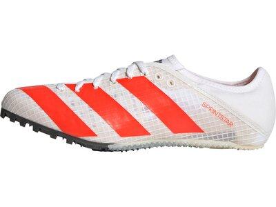 adidas Damen Sprintstar Spike-Schuh Grau