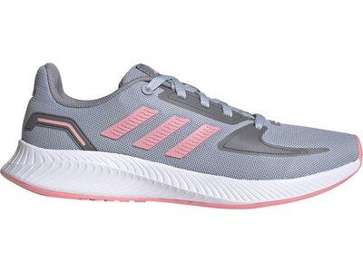 adidas Kinder Runfalcon 2.0 Schuh Silber