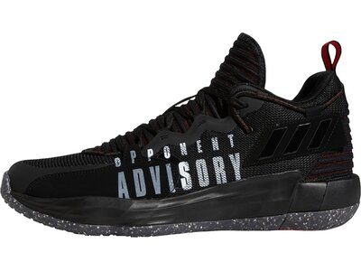 adidas Dame 7 EXTPLY: Opponent Advisory Basketballschuh Schwarz