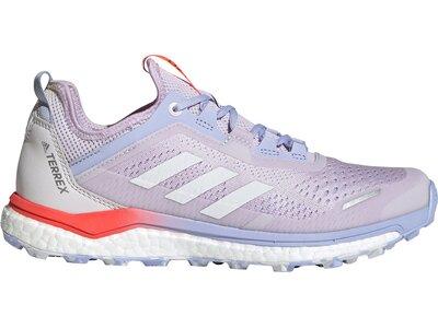 adidas Damen TERERX Agravic Flow Trailrunning-Schuh Silber