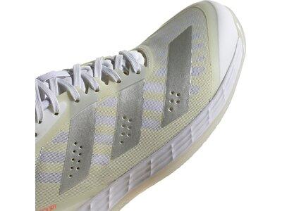 adidas Damen Adizero Fastcourt 1.5 Handballschuh Grau