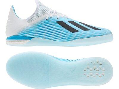 ADIDAS Fußball - Schuhe - Halle X Hard Wired 19.1 IN Halle Grau
