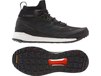 adidas Herren TERREX Free Hiker GORE-TEX Wanderschuh Schwarz