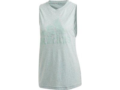 """ADIDAS Damen Shirt """"Winners Tank"""" Ärmellos Pink"""