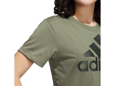 ADIDAS Damen Shirt BOS LOGO TEE Grau