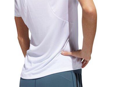 adidas Damen Badge of Sport Logo T-Shirt Weiß