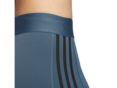adidas Damen Tights Alphaskin 3-Streifen Blau