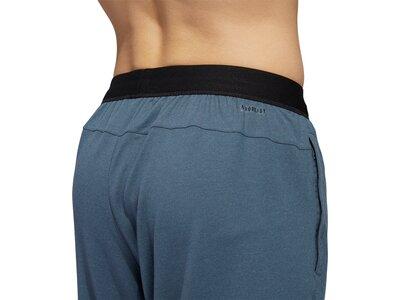 adidas Herren City Studio Fleece Long Shorts Grau