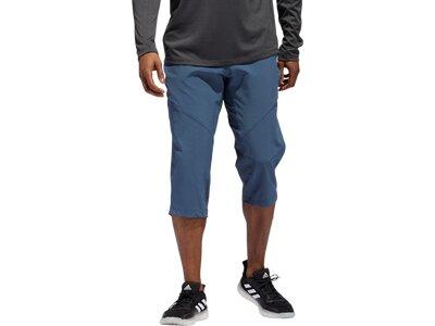 ADIDAS Herren Shorts COOL 34 PANT WV Blau