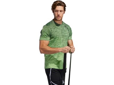 ADIDAS Herren Shirt GRADIENT TEE Grün