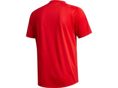 adidas Herren Tokyo Badge of Sport T-Shirt Rot