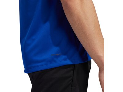 adidas Herren Tokyo Badge of Sport T-Shirt Blau