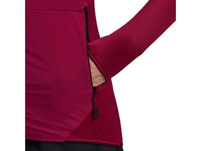adidas TERREX Damen SKYCLIMB FLEECEJACKE Rot