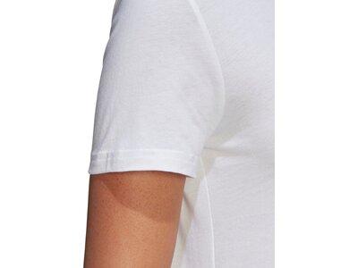 adidas Damen Essentials Linear T-Shirt Pink