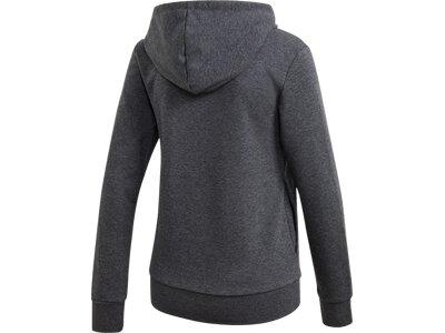 adidas Damen Essentials Linear Hoodie Grau