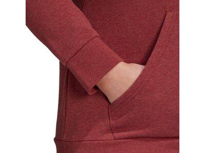 adidas Damen Essentials Kapuzenjacke – Große Größen Lila