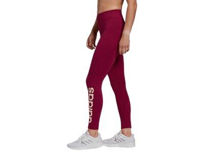 adidas Damen Essentials Linear Tight Rot