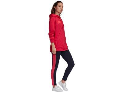 ADIDAS Damen Sportanzug OTH HD & TGHT Rot