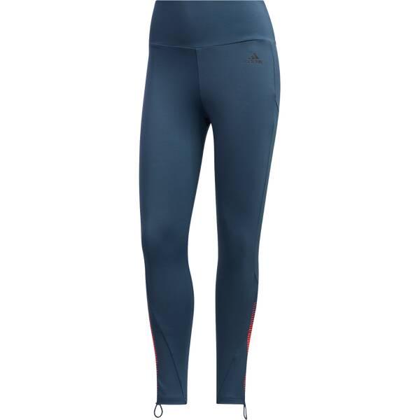 Hosen - ADIDAS Damen Tight Women Activated Tech 7 8 Lang › Blau  - Onlineshop Intersport