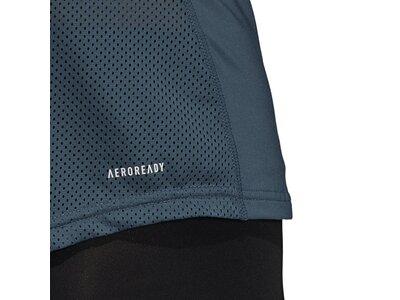 adidas Damen Design 2 Move Logo T-Shirt Grau