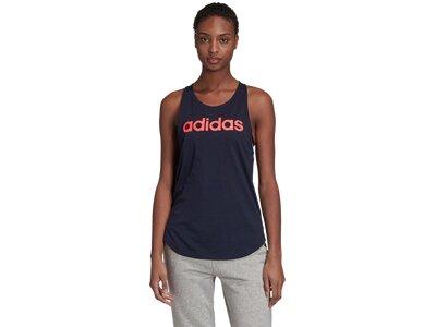 adidas Damen Essentials Linear Tanktop Schwarz