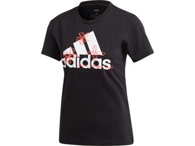 ADIDAS Damen Shirt W FLORAL T Pink
