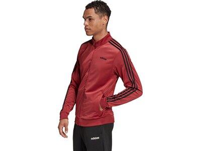 adidas Herren Essentials 3-Streifen Tricot Trainingsjacke Lila