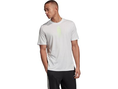 adidas Herren Activated Tech Tee Grau