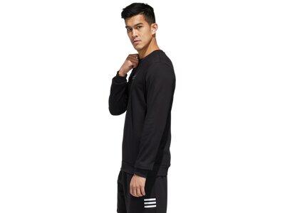 adidas Herren Essentials Branding Sweatshirt Schwarz