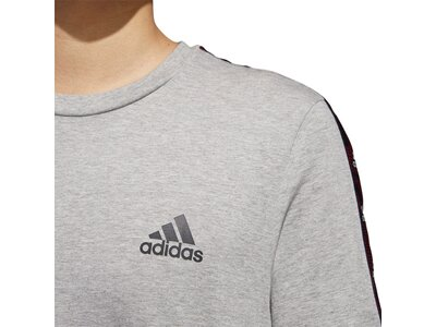 "ADIDAS Herren T-Shirt ""Essential Tape"" Silber"