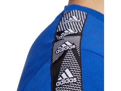 ADIDAS Damen Shirt M E TPE T Blau